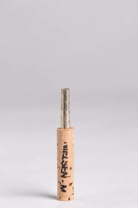 """47 mm Silver """"Nielsen"""" Oboe Staple, Natural Cork"""