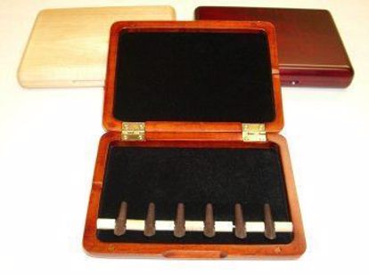 Wood Bassoon Reed Case for 6